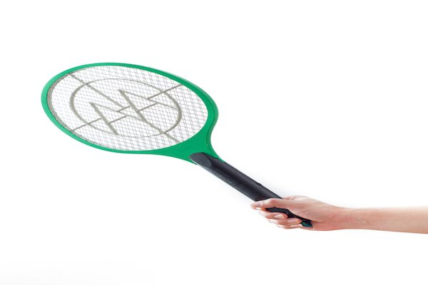 Handheld electronic bug zapper