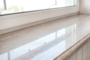 sealing gaps in windows to keep pests out