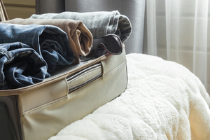 Check your bags thoroughly to prevent bed bugs