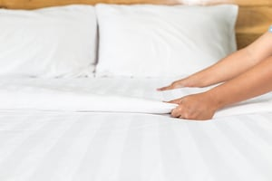 Clean your sheets to prevent bed bugs