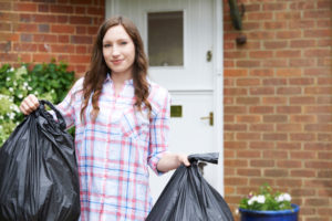 Taking the garbage out will help you prevent fall pests