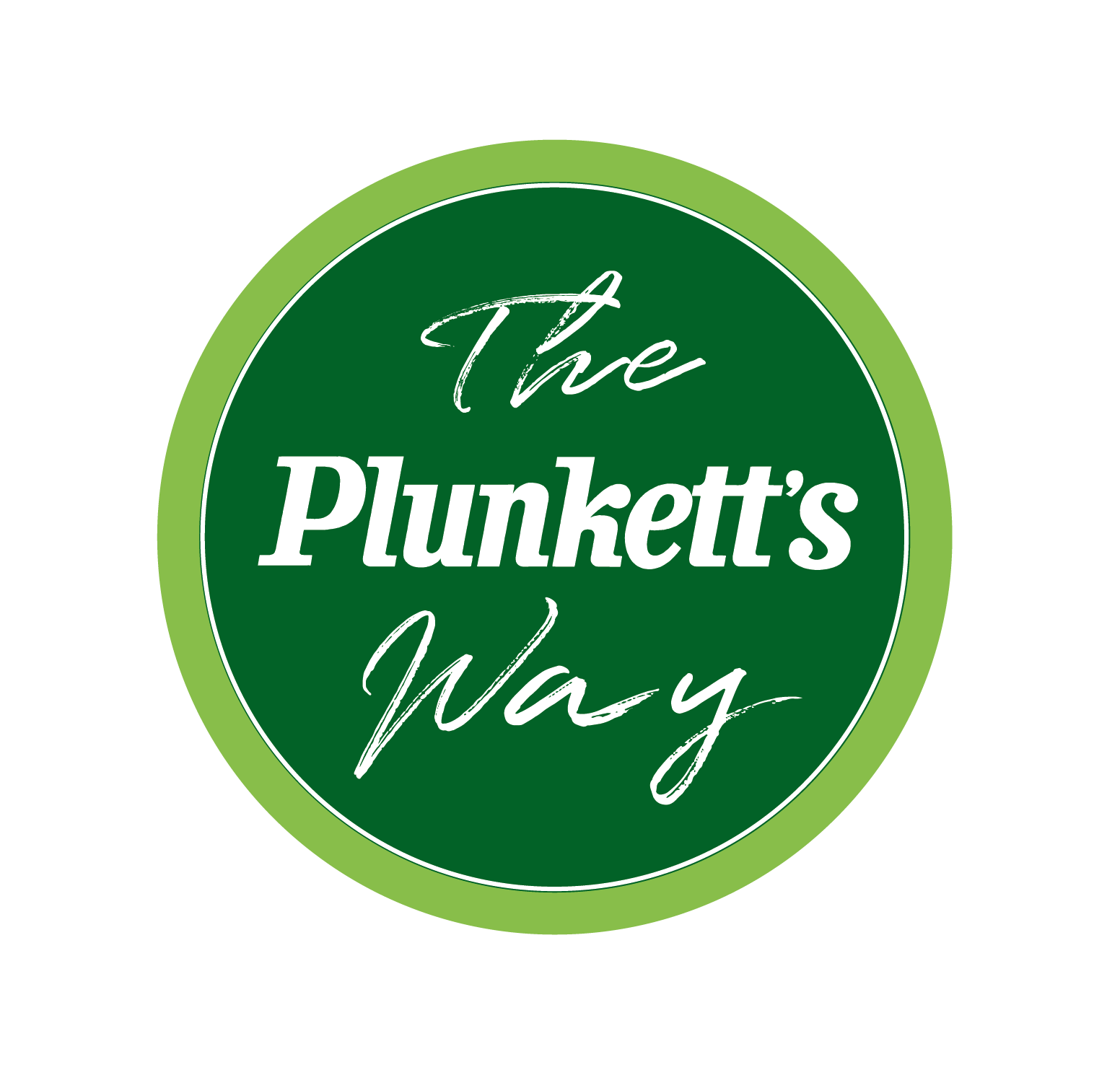 Plunketts Way Logo Grn