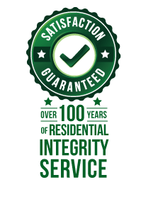 Satisfaction Guarantee Graphic Residential